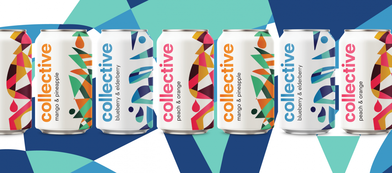 Collective Arts hard tea cans